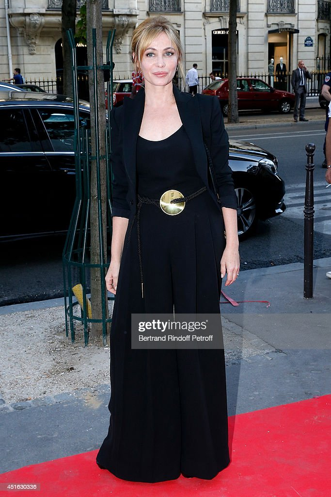 President of '20th Amnesty International France' Gala, <a gi-track='captionPersonalityLinkClicked' href=/galleries/search?phrase=Emmanuelle+Beart&family=editorial&specificpeople=171374 ng-click='$event.stopPropagation()'>Emmanuelle Beart</a> attends the '20th Amnesty International France' : Gala 'Music against oblivion'. Held at Theatre des Champs-Elysees on July 2, 2014 in Paris, France.