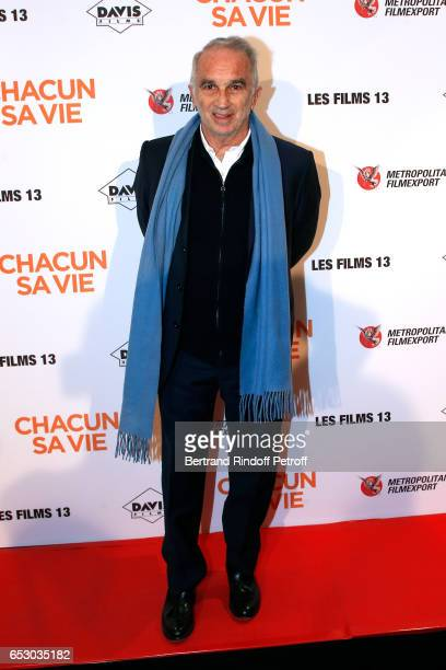 President of Academy des Cesars Alain Terzian attends the 'Chacun sa vie' Paris Premiere at Cinema UGC Normandie on March 13 2017 in Paris France