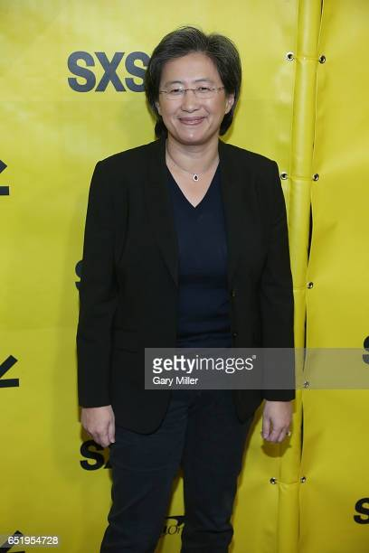 President of Advanced Micro Devices Lisa Su attends a screening of the 1979 film Alien with previews of the new Alien Covenant at the Paramount...