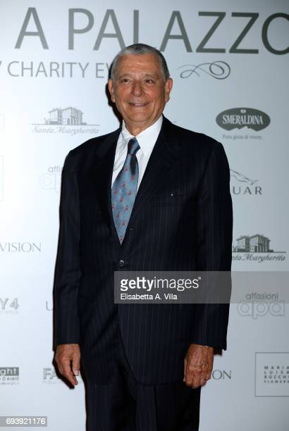 President of Anlaids Lazio Massimo Ghenzer attend Anlaids Gala at Palazzo Doria Pamphilj on June 8 2017 in Rome Italy