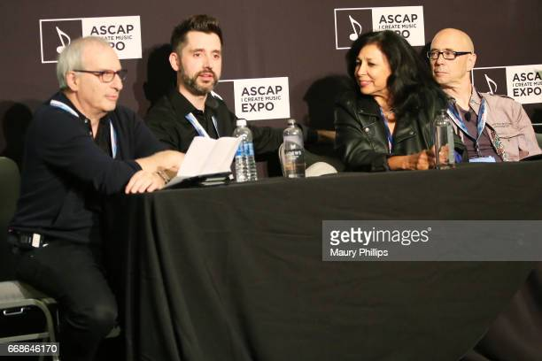 President of APM Music Adam Taylor composer Dan Brown Jr 5 Alarm Music President/Executive Producer Cassie Lord and composer Michael A Levine speaks...