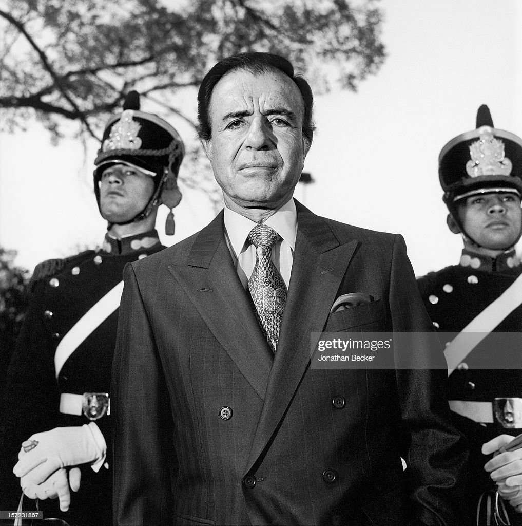 Carlos Menem | Getty Images