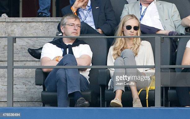 President of AS Monaco Dmitri Rybolovlev and his daughter Ekaterina Rybolovlev attend the UEFA Champions League Final between Juventus Turin and FC...