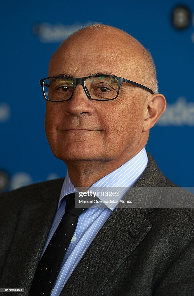 President of Bank Sabadell, Jose Oliu attends the ATP 500 World Tour Barcelona Open Banc Sabadell 2013 tennis tournament at the Real Club de Tenis on April 26, 2013 in Barcelona, Spain.