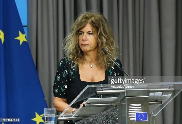 President of BUSINESSEUROPE Emma Marcegaglia Estonian Prime Minister Juri Ratas Vice President of the European Commission Valdis Dombrovskis European...
