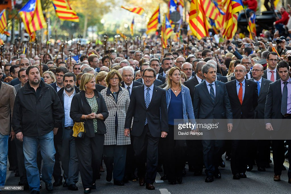 Catalan President Arthur Mas In Court Over Independence Vote