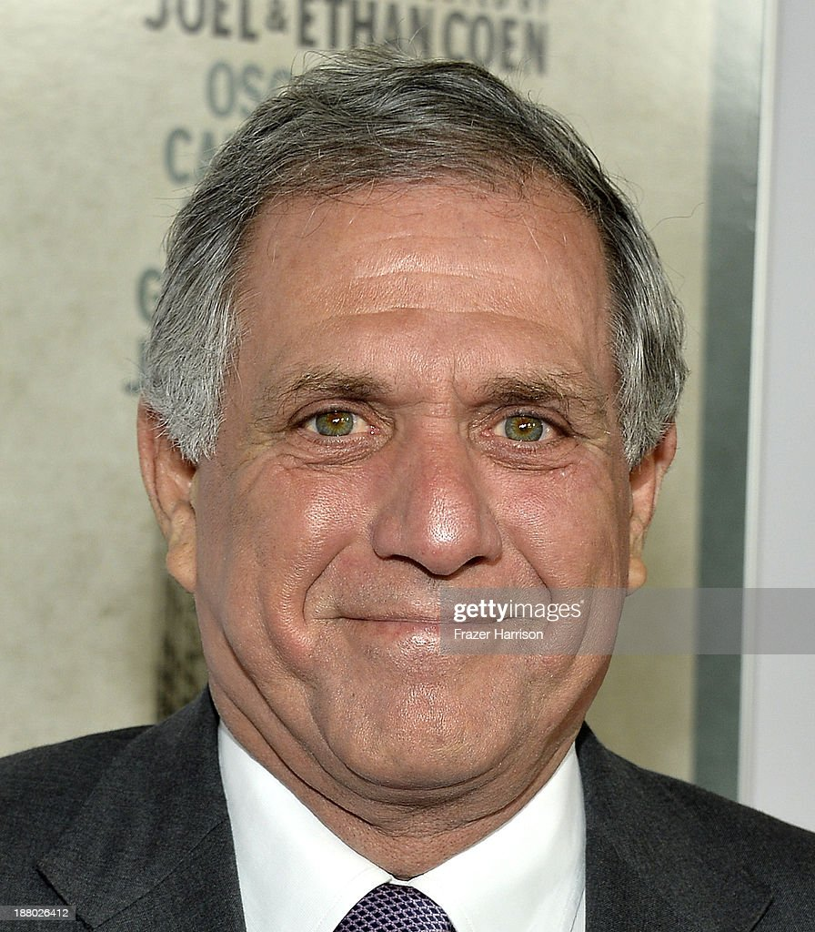 President of CBS Leslie Moonves attends the AFI FEST 2013 presented by Audi closing night gala screening of 'Inside Llewyn Davis' at TCL Chinese...