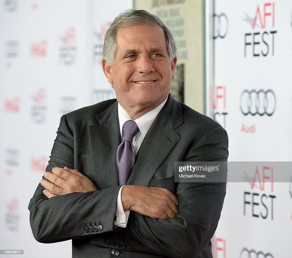 President of CBS Leslie Moonves attends the AFI FEST 2013 presented by Audi closing night gala screening of 'Inside Llewyn Davis' at TCL Chinese Theatre on November 14, 2013 in Hollywood, California.