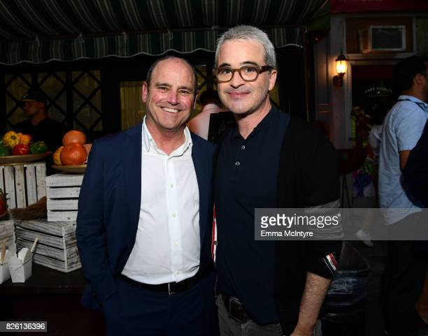 President of CBS Studios David Staph and Alex Kurtzman attends the 2017 Summer TCA Tour CBS Television Studios' Summer Soiree at CBS Studios Radford...
