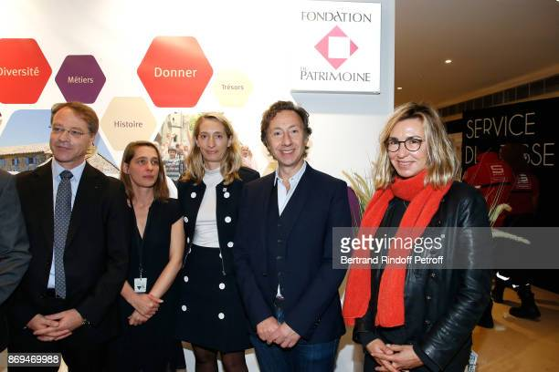 President of CGPME Francois Asselin President of Ateliers d'Art de France Aude Tahon Executive Director of the Heritage Foundation Celia Verot...