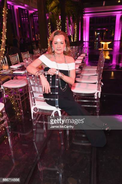 President of Chopard Caroline Scheufele attends Creatures Of The Night LateNight Soiree Hosted By Chopard And Champagne Armand De Brignac at The...
