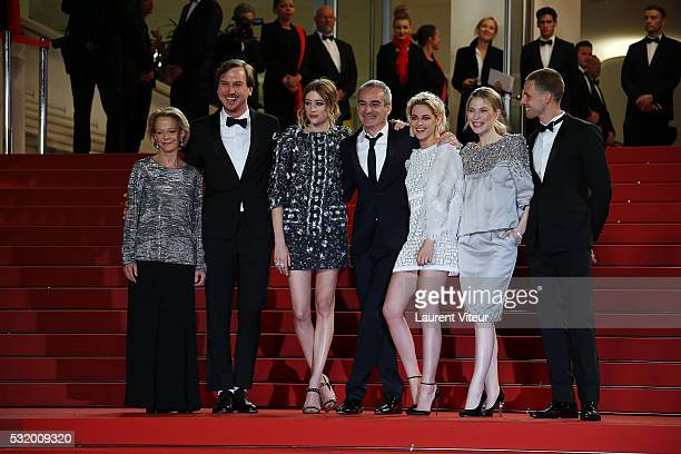 President of CNC Frederique Bredin actor Lars Eidinger actress Sigrid Bouaziz Director Olivier Assayas actress Kristen Stewart actress Nora von...