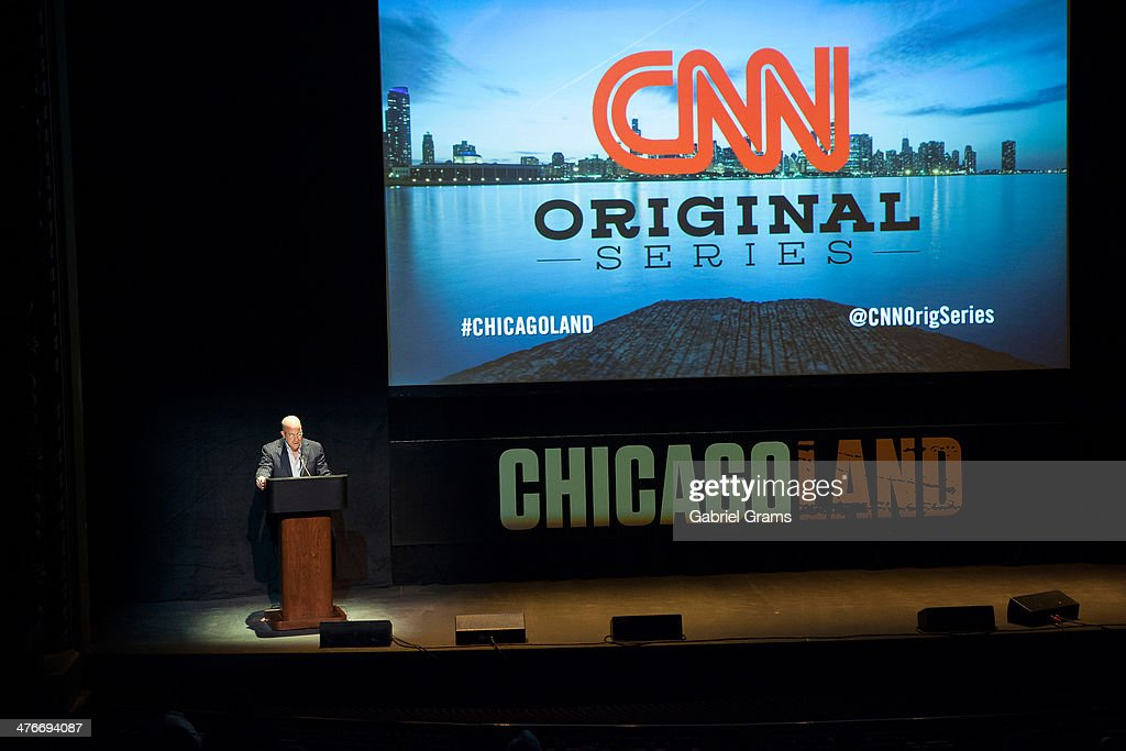 President of CNN <a gi-track='captionPersonalityLinkClicked' href=/galleries/search?phrase=Jeff+Zucker&family=editorial&specificpeople=210647 ng-click='$event.stopPropagation()'>Jeff Zucker</a> attends the 'Chicagoland' series premiere at Bank of America Theater on March 4, 2014 in Chicago, Illinois.