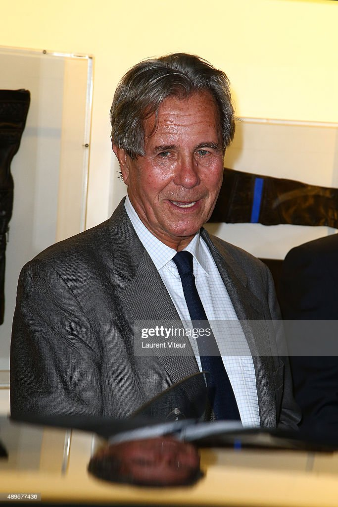 President of Conseil Constitutionel Jean-Louis Debre attends the 'Maison Fabre x DS World Paris' At The DS Flagshipstore In Paris on September 22, 2015 in Paris, France.
