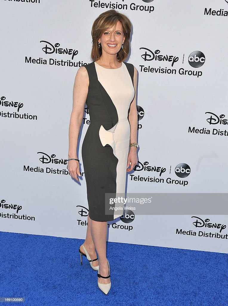 President of Disney-ABC Television Group <a gi-track='captionPersonalityLinkClicked' href=/galleries/search?phrase=Anne+Sweeney&family=editorial&specificpeople=210622 ng-click='$event.stopPropagation()'>Anne Sweeney</a> arrives at the Disney Media Networks International Upfronts at Walt Disney Studios on May 19, 2013 in Burbank, California.