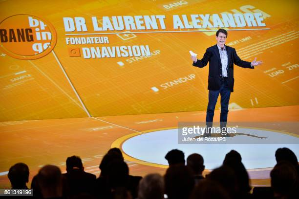 President of Doctissimo Dr Laurent Alexandre attends the third edition of Bpifrance INNO generation at AccorHotels Arena on October 12 2017 in Paris...