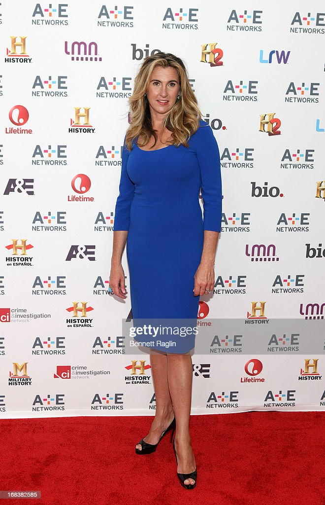 President of Entertainment and Media of A+E Entertainment Nancy Dubuc attends the 2013 A+E Networks Upfront at Lincoln Center on May 8, 2013 in New York City.