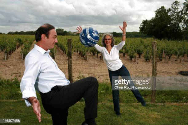 President of FC Girondins de Bordeaux and current proprietor of Chateau Gloria and Chateau SaintPierre JeanLouis Triaud and wife Francoise Triaud are...