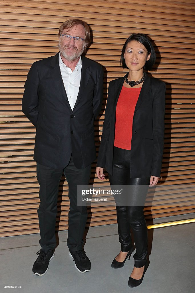President of Festival Quentin Raspail and French Minister of Culture <a gi-track='captionPersonalityLinkClicked' href=/galleries/search?phrase=Fleur+Pellerin&family=editorial&specificpeople=8784076 ng-click='$event.stopPropagation()'>Fleur Pellerin</a> attend the 16th Festival of TV Fiction of La Rochelle on September 12, 2014 in La Rochelle, France.