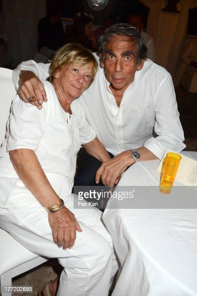 President of FIFA protocol Dr Pierre Huth and his wife Dr Francoise Huth attend the Massimo Gargia's Birthday Dinner at Moulins de Ramatuelle on...