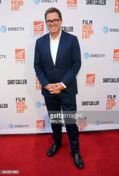 President of Film Independent Josh Welsh attends screening of Saban Films and DIRECTV's' 'Shot Caller' at The Theatre at Ace Hotel on August 15 2017...