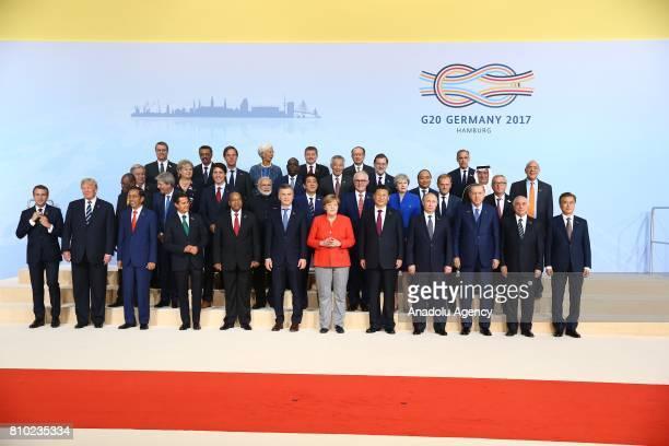 President of France Emmanuel Macron US President Donald Trump Indonesian President Joko Widodo Mexican President Enrique Pena Nieto President of...