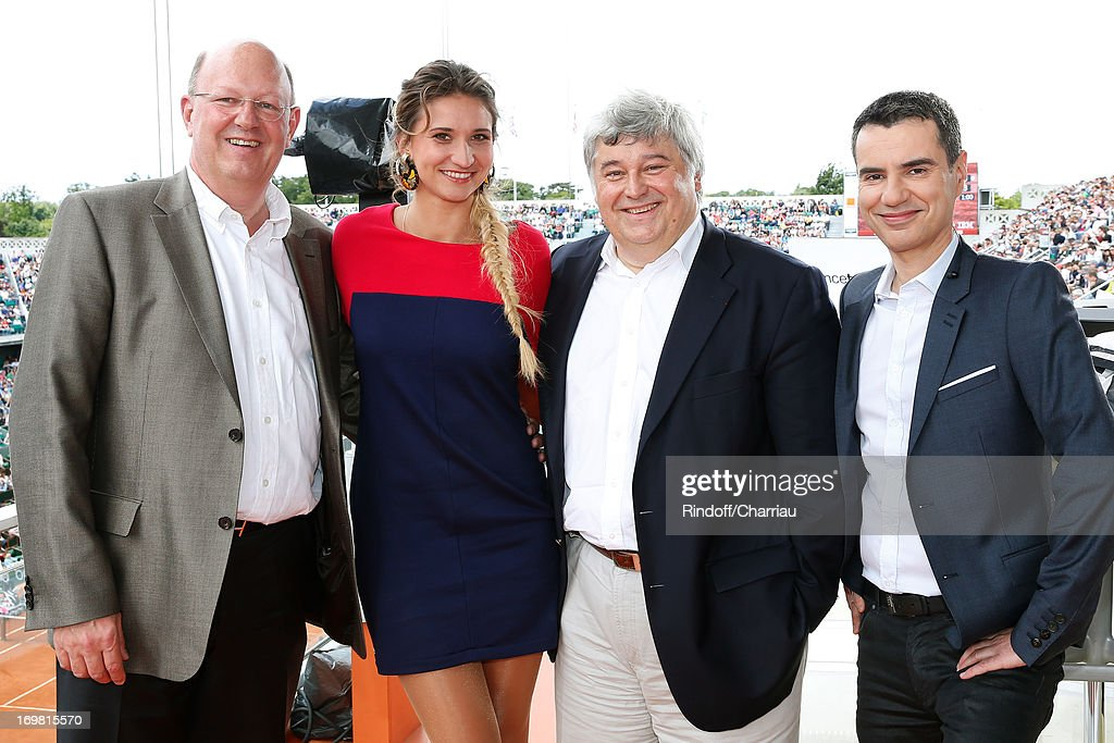 Celebrities At French Open 2013 - Day 8