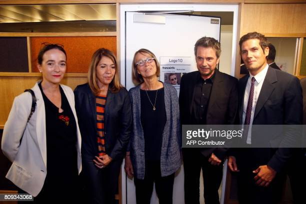 President of France Televisions Delphine Ernotte Cunci French international broadcasting group France Media Monde Director MarieChristine Saragosse...