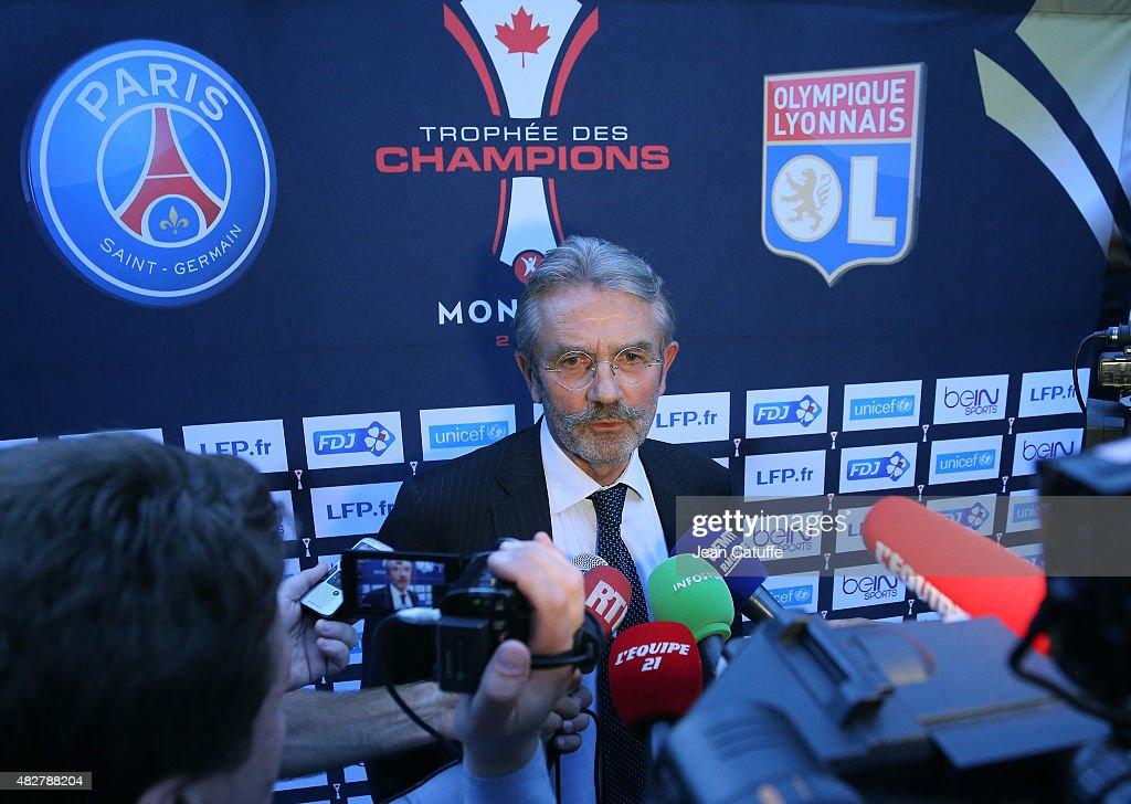 Paris Saint-Germain Training Session & Press Conference