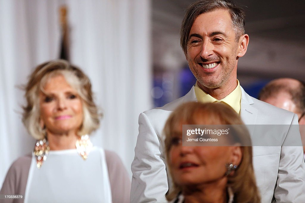 President of HBO Documentary Films Sheila Nevins, actor Alan Cumming and media personality Barbara Walters onstage at the 8th Annual 'Made In NY Awards' at Gracie Mansion on June 10, 2013 in New York City.