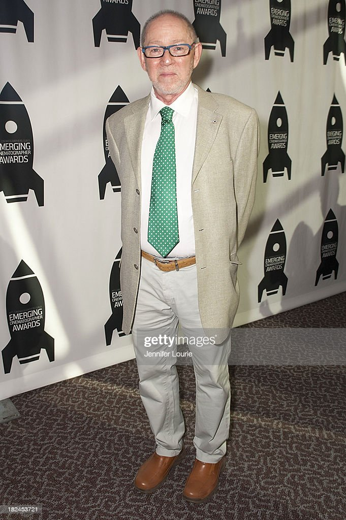 President of ICG Steve Poster attends The International Cinematographers Guild's 17th Annual Emerging Cinematographer Awards at Directors Guild Of America on September 29, 2013 in Los Angeles, California.