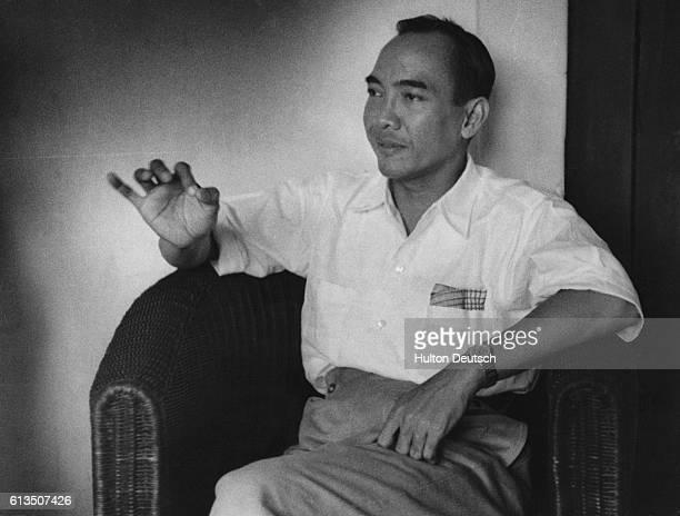 President of Indonesia Achmad Sukarno in 1949