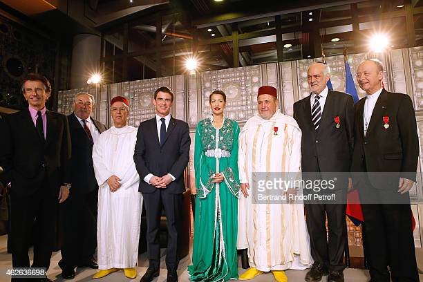 President of Institut du Monde Arabe Jack Lang Secretary General of the Jewish Communities of Morocco Serge Berdugo Minister of Endowments and...