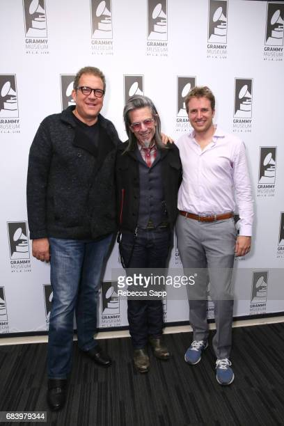 President of Jampol Artist Management Inc Jeff Jampol Executive Director of the GRAMMY Museum Scott Goldman and Executive director of The Wende...