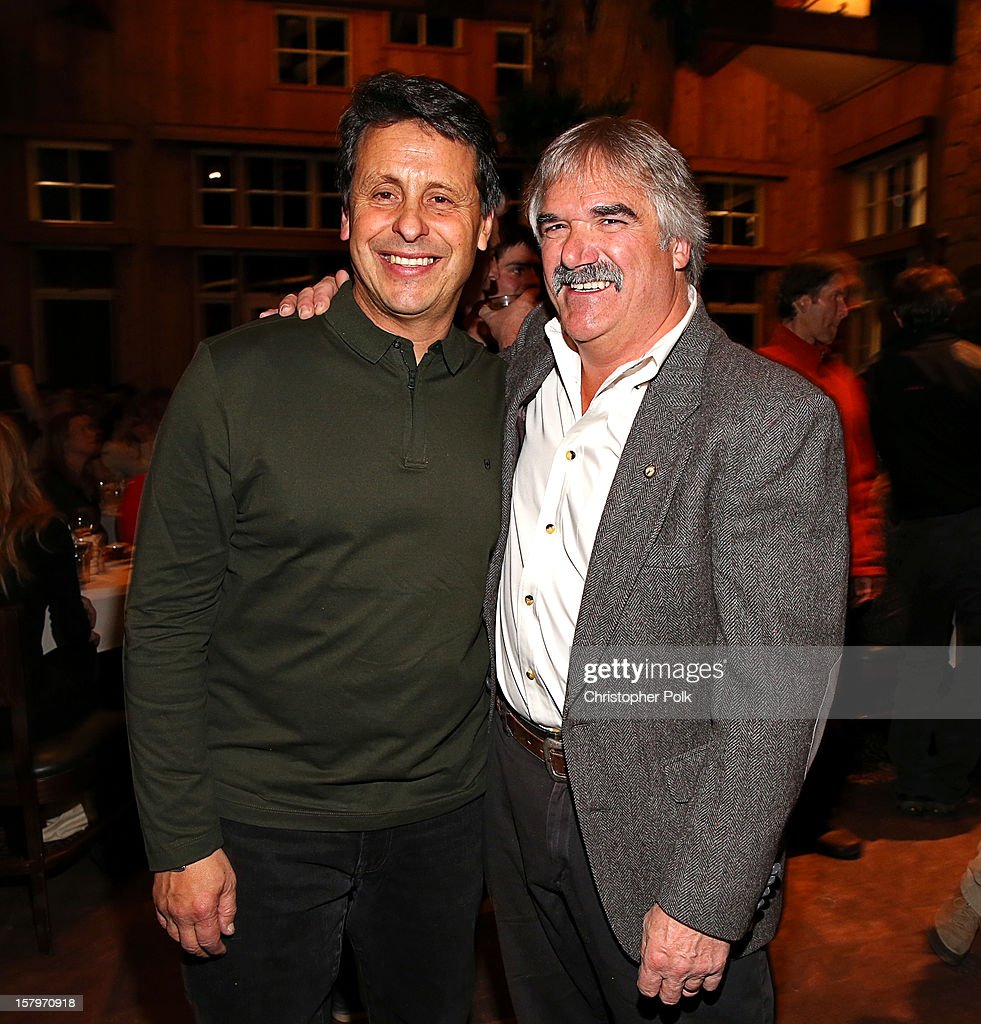 President of Juma Entertainment Bob Horowitz and Bob Wheaten attend the Deer Valley Celebrity Skifest at Deer Valley Resort on December 7, 2012 in Park City, Utah.