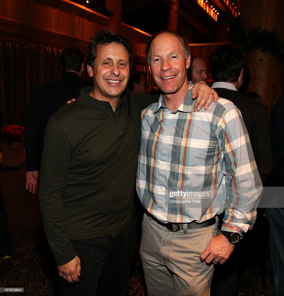 President of Juma Entertainment Bob Horowitz and Olympic Gold Medalist Tommy Moe attend the Deer Valley Celebrity Skifest at Deer Valley Resort on December 7, 2012 in Park City, Utah.