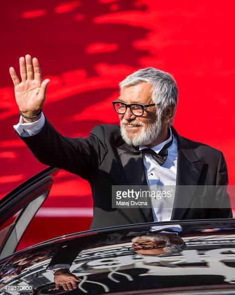 President of Karlovy Vary International Film Festival Jiri Bartoska arrives at the opening ceremony of the 50th Karlovy Vary International Film...