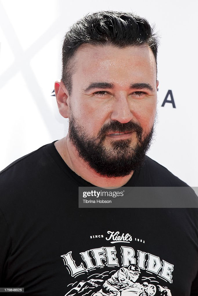 President of Kiehl's Chris Salgardo attends the 4th annual Kiehl's LifeRide for amfAR at The Grove on August 8, 2013 in Los Angeles, California.
