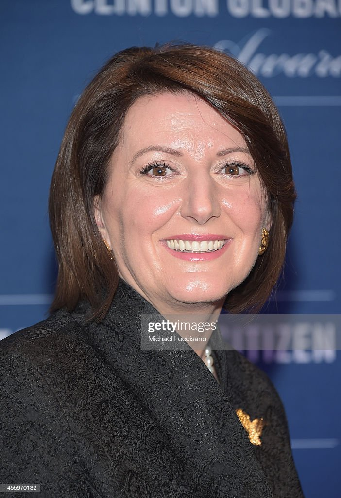 President of Kosovo <a gi-track='captionPersonalityLinkClicked' href=/galleries/search?phrase=Atifete+Jahjaga&family=editorial&specificpeople=7799061 ng-click='$event.stopPropagation()'>Atifete Jahjaga</a> attends the 8th Annual Clinton Global Citizen Awards at Sheraton Times Square on September 21, 2014 in New York City.