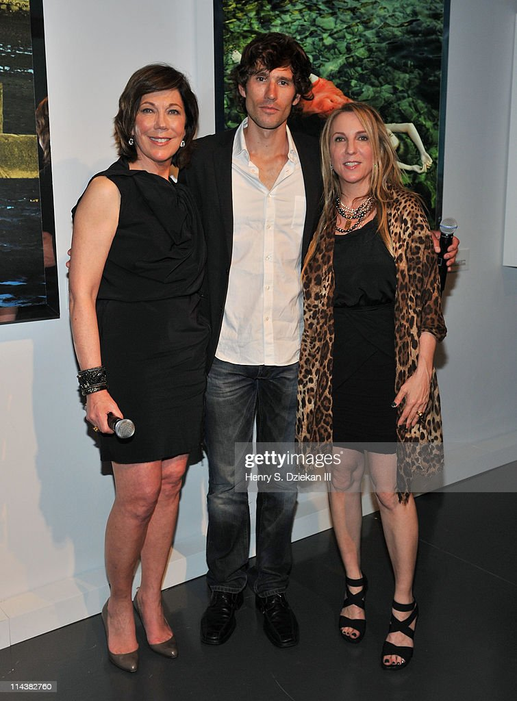 President of La Mer Maureen Case, Guillaume Nery and Susan Cohn Rockefeller attend World Ocean Day 2011 celebrated by La Mer and Oceana at Affirmation Arts on May 18, 2011 in New York City.