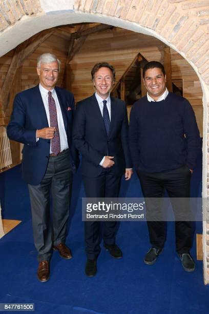 President of 'Les Vieilles Maisons Francaises' Philippe Toussaint who received the Prize of Stephane Bern's Foundation for 'Patrimoine Institut de...