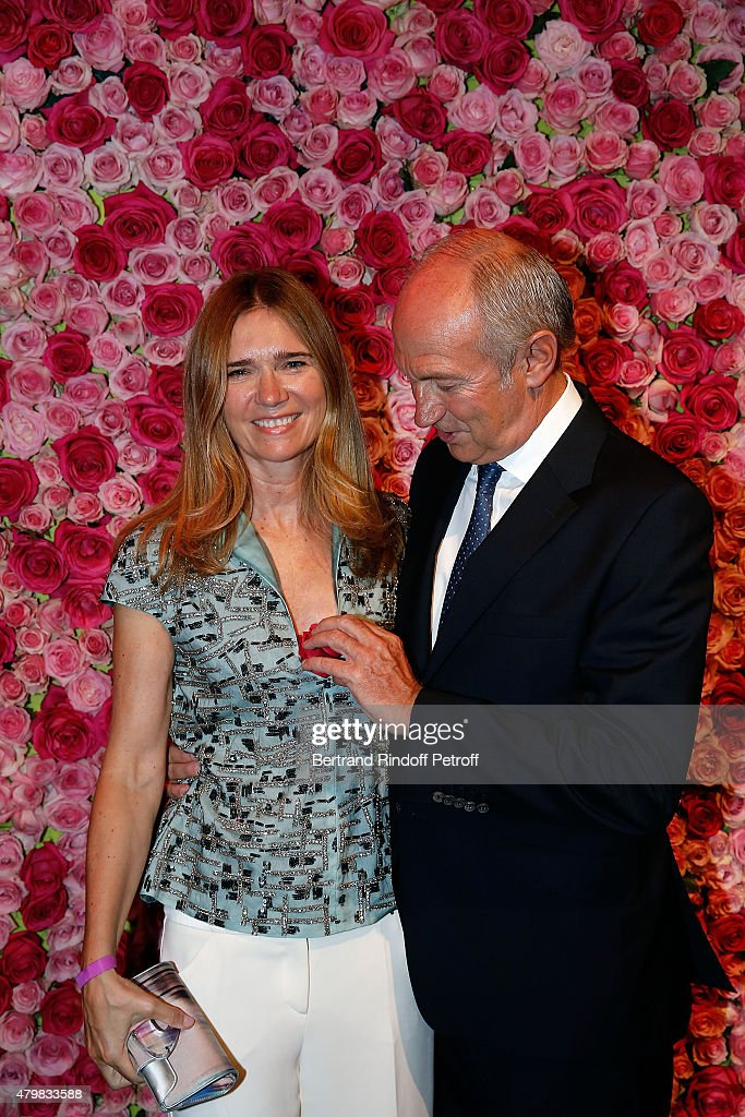President of l'Oreal <a gi-track='captionPersonalityLinkClicked' href=/galleries/search?phrase=Jean-Paul+Agon&family=editorial&specificpeople=675160 ng-click='$event.stopPropagation()'>Jean-Paul Agon</a> and his partner Sophie Scheidecker attend the Lancome 80th Anniversary Party as part of Paris Fashion Week Haute Couture Fall/Winter 2015/2016 on July 7, 2015 in Paris, France.