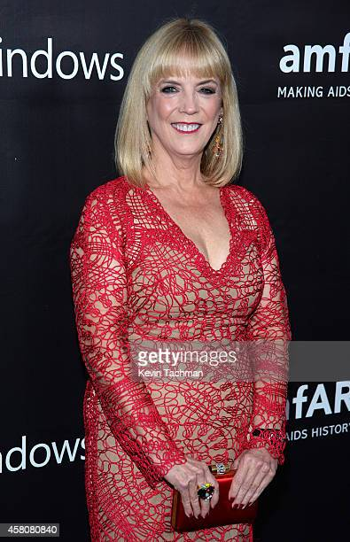 President of L'Oreal Luxury Division Carol Hamilton attends amfAR LA Inspiration Gala honoring Tom Ford at Milk Studios on October 29 2014 in...