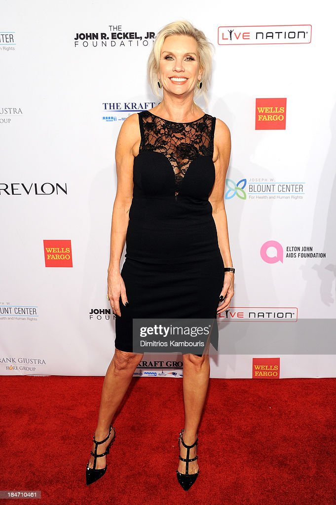 President of MAC Cosmetics Karen Buglisi attends the Elton John AIDS Foundation's 12th Annual An Enduring Vision Benefit at Cipriani Wall Street on October 15, 2013 in New York City.