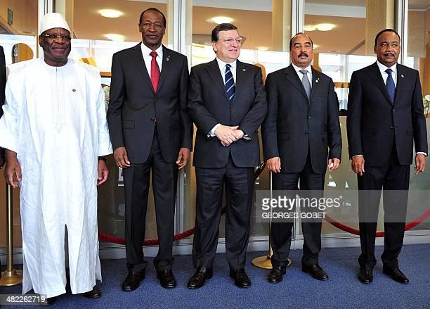 President of Mali Ibrahim Boubacar Keita President of Burkina Faso Blaise Compaore European Commission President Jose Manuel Barroso President of...