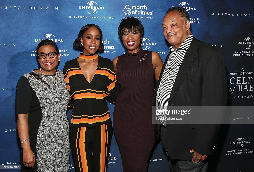 ¿Cuánto mide Jennifer Hudson? - Real height President-of-march-of-dimes-foundation-stacey-d-stewart-kelly-rowland-picture-id628807562