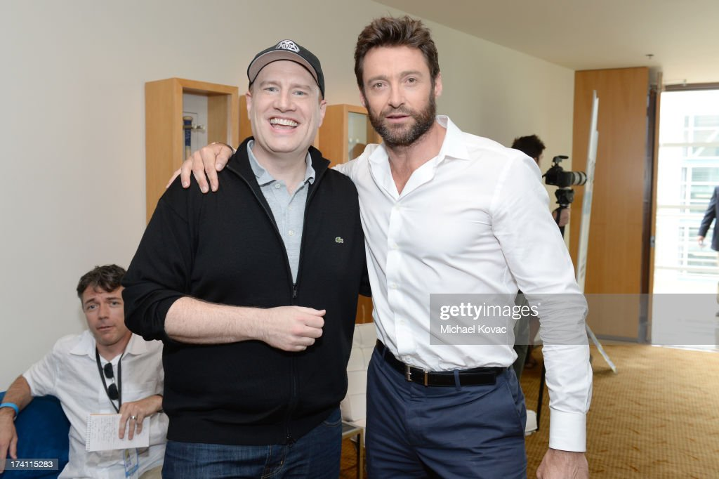 Image result for kevin feige hugh jackman