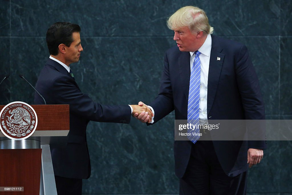 President Pena Nieto Receives Donald Trump