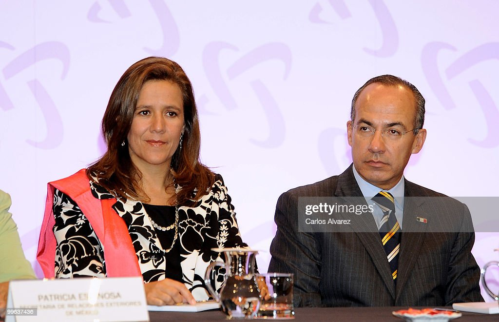 Spanish Royals Attend the Opening of 'I Foro Espana-Mexico'