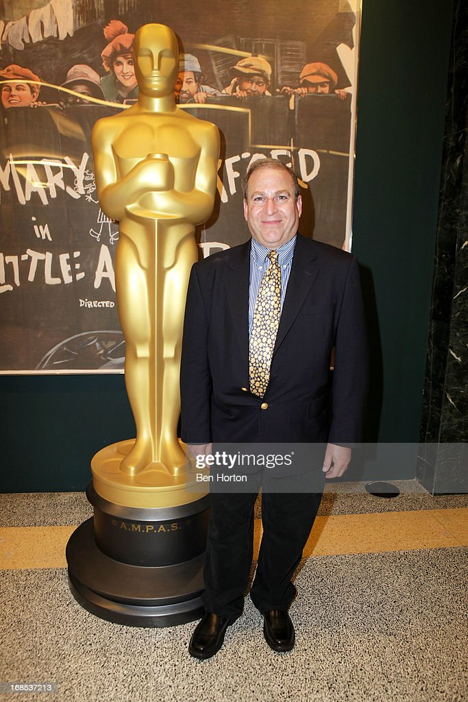 President of Milestone Films Dennis Doros attends the Academy of Motion Picture Arts and Sciences' special screening and discussion of Shirley Clarke's 'Portrait Of Jason' at Pickford Center for Motion Study on May 10, 2013 in Hollywood, California.